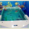 Family acrylic swimming pools are divided into two categories