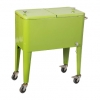 Cooler cart has better sealing