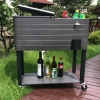 Quick beer cooler cart can cool beer to -2 degrees in 6 minutes