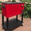 Cooler cart with wheels has a wide range of applications